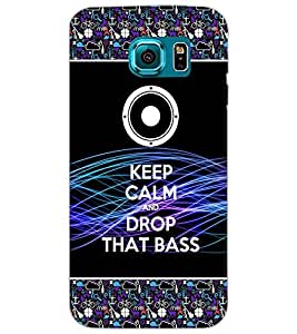 SAMSUNG GALAXY S6 KEEP CALM Back Cover by PRINTSWAG