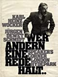 WER ANDERN EINE REDE HALT/SPEAKER