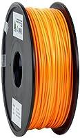 eSun PLA 3D Printer Filament, 3 mm Diameter, 1 kg Spool, Orange from Shenzhen Esun Industrial Co., Ltd.