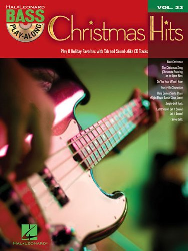 Christmas Hits: Bass Play-Along Volume 33 (Hal Leonard Bass Play-Along)