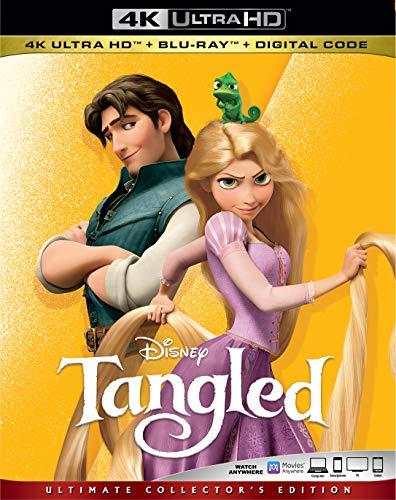 4K Blu-ray : Tangled (2 Discos)