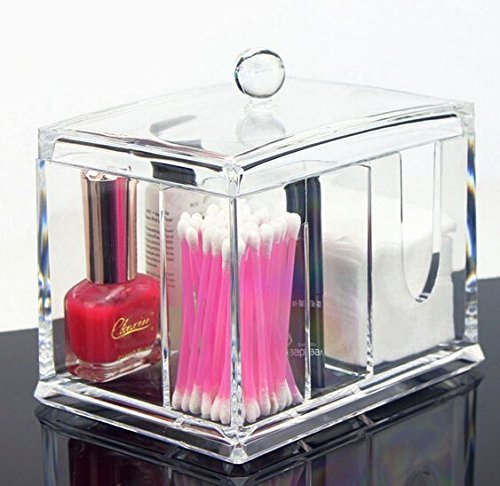 acrylicase-clear-acrylic-organizer-storage-box-for-cotton-swabs-q-tips-make-up-pads-cosmetics-more-f