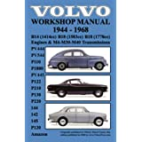 Volvo 1944-1968 Workshop Manual PV444, PV544 (P110), P1800, PV445, P122 (P120 & Amazon), P210, P130, P220, 144...