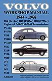 Volvo 1944-1968 Workshop Manual Pv444, Pv544 (P110), P1800, Pv445, P122 (P120 & Amazon), P210, P130, P220, 144, 142 & 145