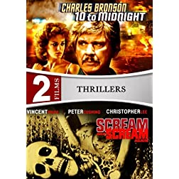 10 To Midnight / Scream and Scream Again - 2 DVD Set  (Amazon.com Exclusive)