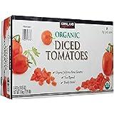 Kirkland Signature Organic Diced Tomatoes, 7.25 Pound