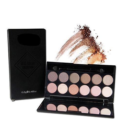 YANQINA 2016 HOT 12 Colors Matte Eye shadow Palette Nude Smoky Eye shadow Kit Eye Beauty