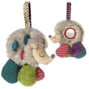 Natural Life Baby Mary Meyer Activity Toy, Happy Hugs Hedgehog