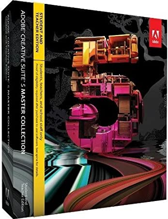 Adobe Creative Suite 5 Master Collection, Student and Teacher Version (PC)