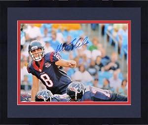 Framed Matt Schaub Autographed 16x20 Photo - Witness Houston Texans - JSA Certified -... by Sports Memorabilia