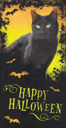 Greeting Halloween Card Gift Card/money Holder