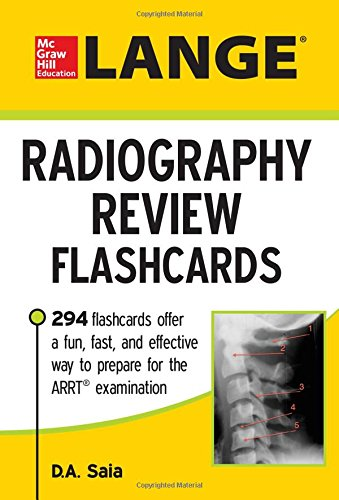 LANGE Radiography Review Flashcards PDF