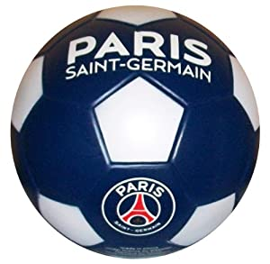 Ballon PSG - Collection officielle PARIS SAINT GERMAIN - Taille 5 - Football Supporter - Ligue 1 - Couleur bleu