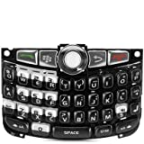 BLACK UK QWERTY KEYPAD FOR BLACKBERRY CURVE 8300 8310 8320 KEYBOARD + TRACKBALL