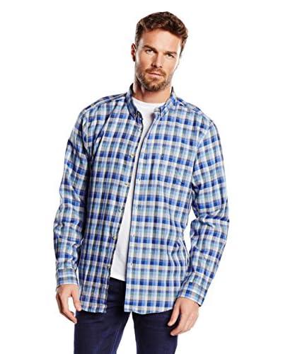 Ben Sherman Camisa Hombre Azul