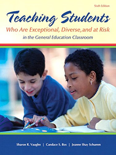 child with exceptionalities in the classroom essay Creating a warm and inclusive classroom environment: planning for all children to feel welcome jessica l bucholz university of west georgia julie l sheffler.