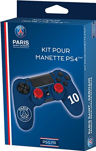 PSG - Official Paris Saint Germain Licence for PS4 Controller (Includes Caps) Kit