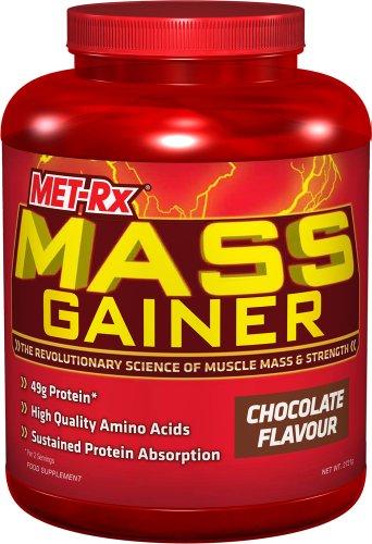 MET-Rx Mass Gainer 2720 g Chocolate Muscle Mass and Strength Shake Powder