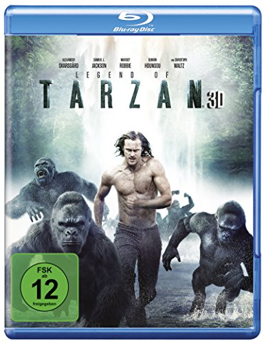 Legend of Tarzan [3D Blu-ray]