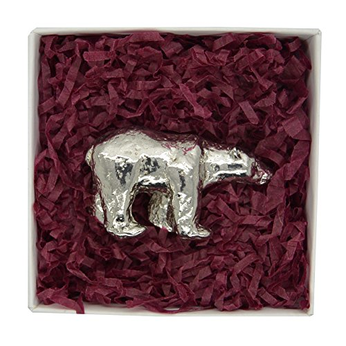 wwf-handcast-pewter-polar-bear-in-presentation-box-help-raise-funds-for-the-world-wildlife-fund-by-p