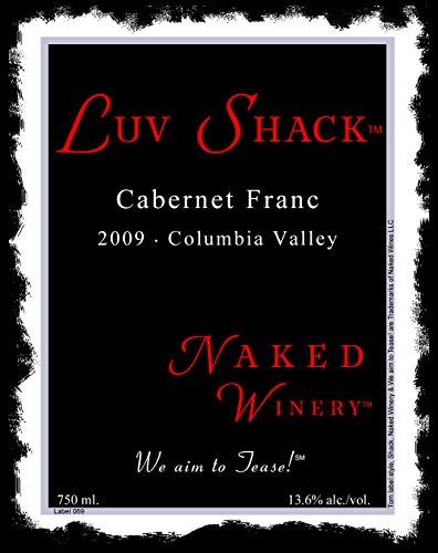 2009 Naked Winery Luv Shack Cab Franc 750 Ml
