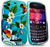 Phonedirectonline- Sea flower silicone case cover pouch for blackberry curve 9360