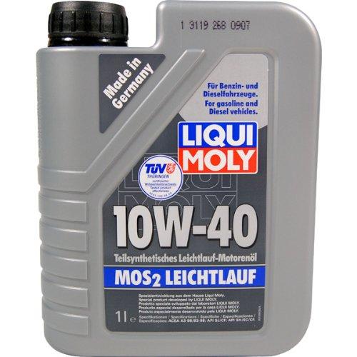 LIQUI MOLY Motoröl Leichtlauf 10W40 1Liter