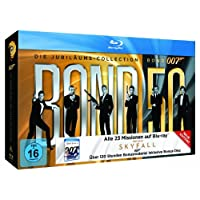 James Bond 007 (Die Jubil�ums-Collection inkl. Skyfall) [24 Blu-rays]