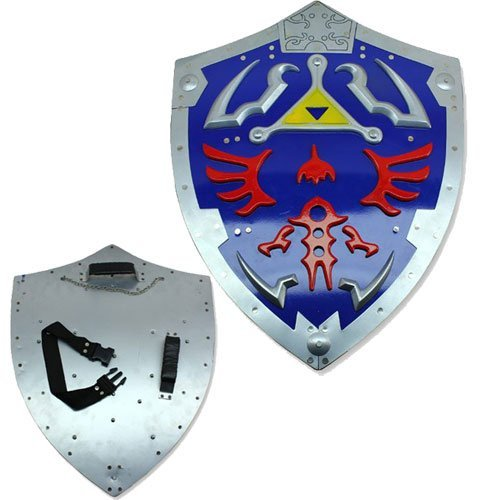THE Legend of Zelda Real Replica Master Shield Costume Link Hylian Game