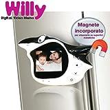 Videocamera Video Memo 4Geek Willy - Crea Video Messaggi da Riprodurre e Condividere - Camera Frontale - Mini... di 4Geek