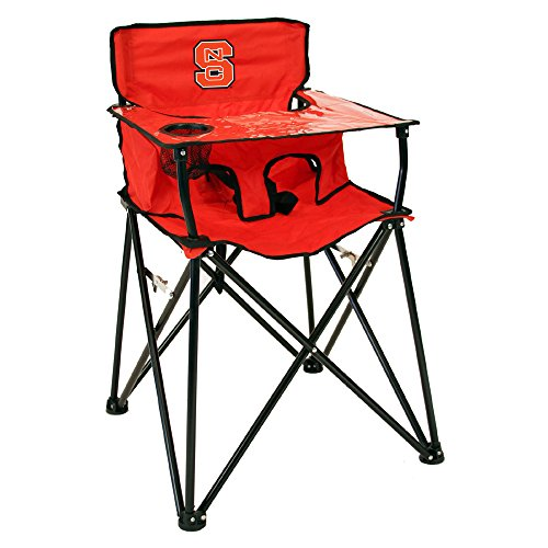 Rivalry Distributing RIV-RV302-1700 North Carolina State Wolfpack NCAA Ultimate Travel Child High Chair