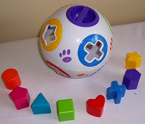 Kid Connection Pull Apart Shape Sorter*Teaches Your Baby Shapes
