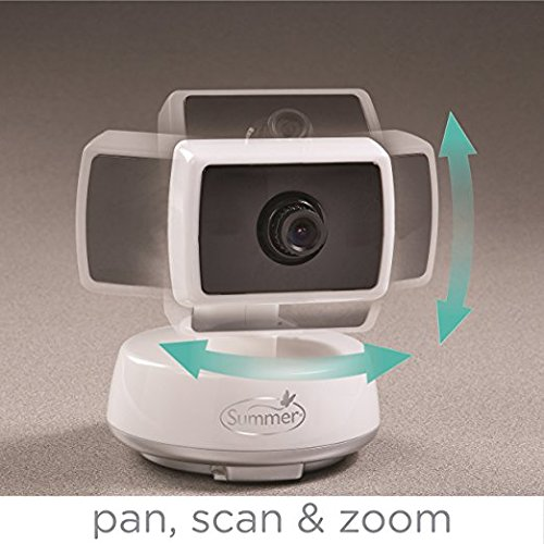 Summer Infant Baby Touch Pan/Scan/Zoom Video Baby Monitor, 3.5""