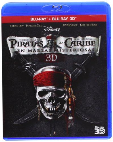 Piratas del Caribe: En Mareas(Blu-ray 3D [Blu-ray]