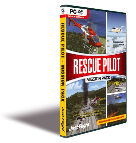 Rescue Pilot Mission Pack Expansion for MS Flight Simulator X/2004 - PC