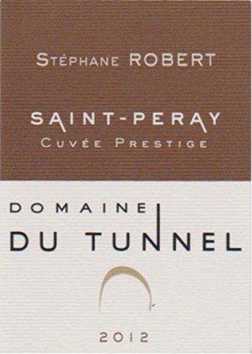 2012 Domaine Du Tunnel: Saint-Peray Cuvee Prestige 750 Ml