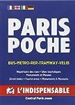 Plan de ville : Paris Poche, avec ind...