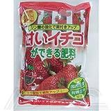 甘いイチゴができる肥料 〜リン酸の強化で実付アップ〜