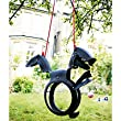 Children's Recycled T-Rex Tyre Swing