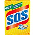 S.O.S. Steel Wool Soap Pads, 18 Count (Pack of 12)