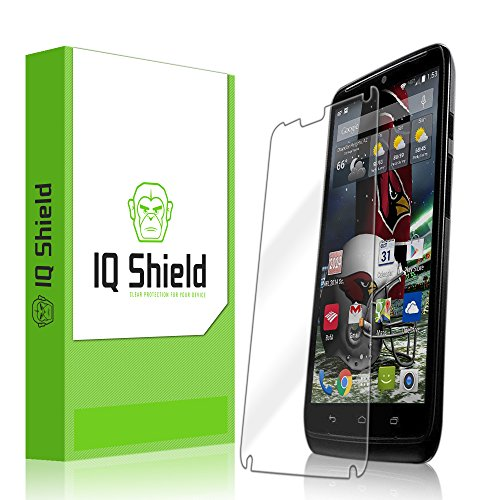 Iq Shield Liquidskin - Motorola Droid Turbo Screen Protector With Lifetime Replacement Warranty - High Definition (Hd) Ultra Clear Smart Film - Premium Protective Screen Guard - Extremely Smooth / Self-Healing / Bubble-Free Shield - Kit Comes In Frustrati