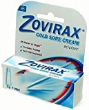 ZOVIRAX CREAM TUBE COLD SORE TREATMENT - TUBE -ACICLOVIR - 2 G
