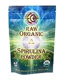 Earth Circle Organics - Raw, Organic, Kosher - Spirulina Powder, 4 oz Bag
