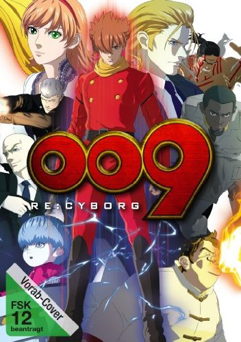 009 Re: Cyborg, DVD - Film
