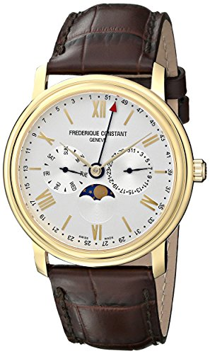 frederique-constant-classics-business-timer-fc-270sw4p5-40mm-gold-plated-stainless-steel-case-brown-
