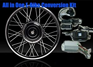 eBike 36v 500w 26in FRONT WHEEL Electric Bike Bicycle Motor Conversion Kit / USA / ebike kit / Electric Bicycle Kit - BATTERY NOT INCLUDED