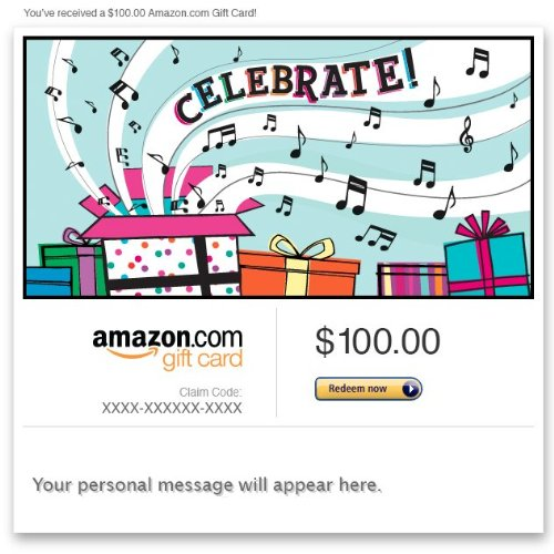 Amazon Gift Card - Email - Celebrate