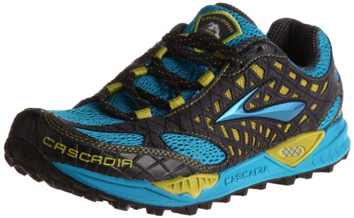d75308fba5b Brooks Men s Cascadia 7 Trail Running Shoe Euro Blue Citronelle Anthracite  9 D US