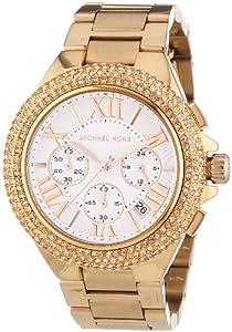 Michael Kors  MK5636 - Reloj de cuarzo para mujer, con correa de acero inoxidable chapado, color oro rosa
