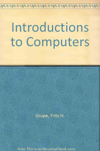 Introductions to Computers